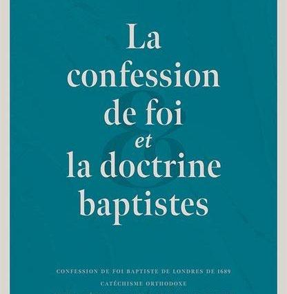 Il est inévitable d'avoir une confession de foi
